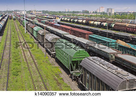 Picture of marshalling yard k14090357.
