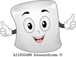 Marshmallow Clipart Royalty Free. 744 marshmallow clip art vector.