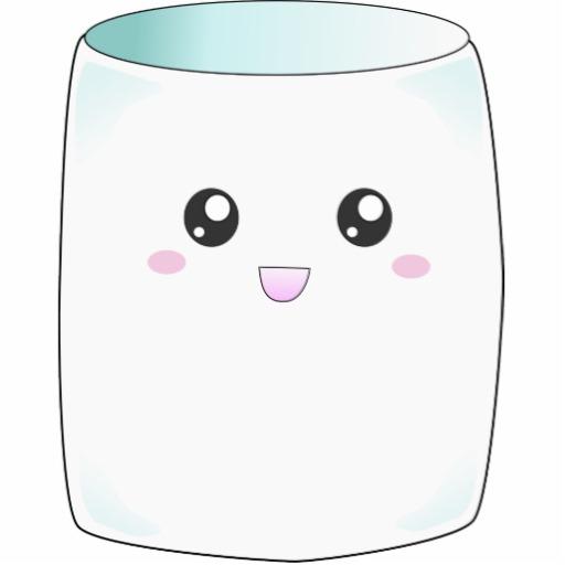 Cute Marshmallow Clip Art.