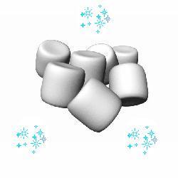 Marshmallow clipart free.