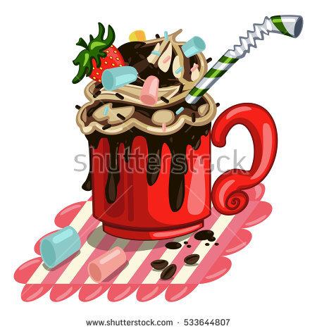 Hot Chocolate Marshmallows Stock Photos, Royalty.