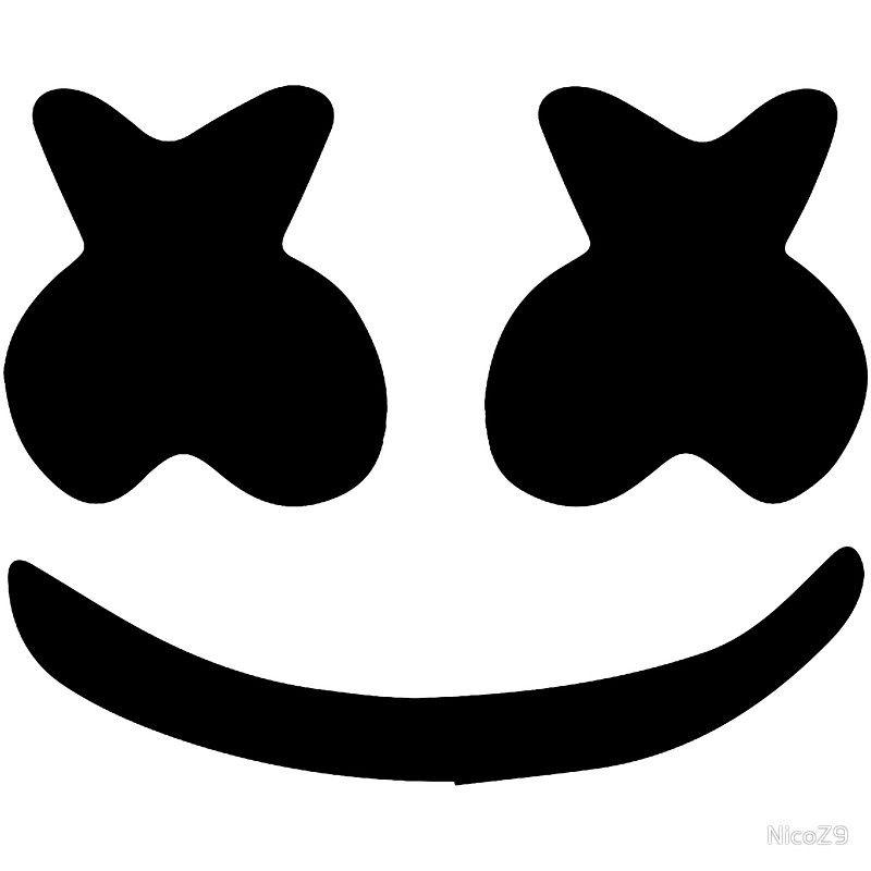 Marshmello Eyes Helmet Template in 2019.