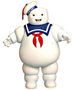 Ghostbusters Stay Puft Marshmallow Man Exclusive 20 Action Figure.