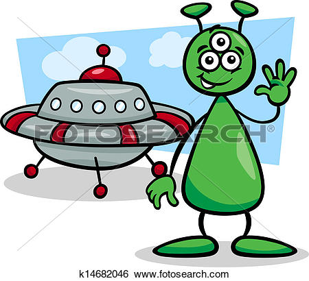 Martian Clip Art and Illustration. 1,163 martian clipart vector.