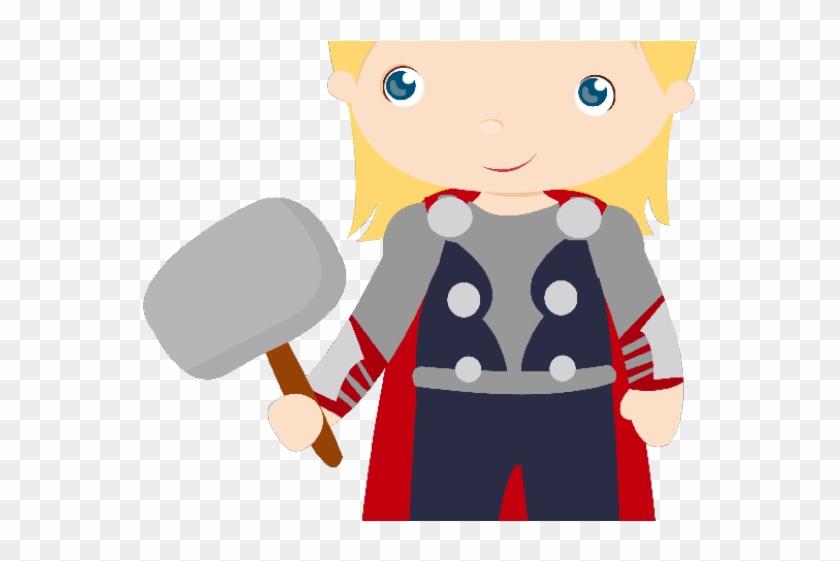Thor Clipart Cute.