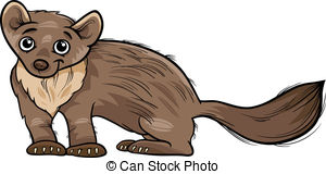 Vectors Illustration of Marten.