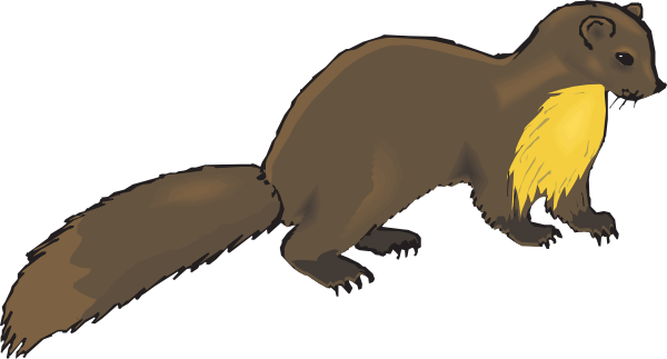Brown Mink Clip Art at Clker.com.