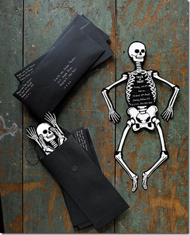 Start the party off right with Skeleton Halloween.