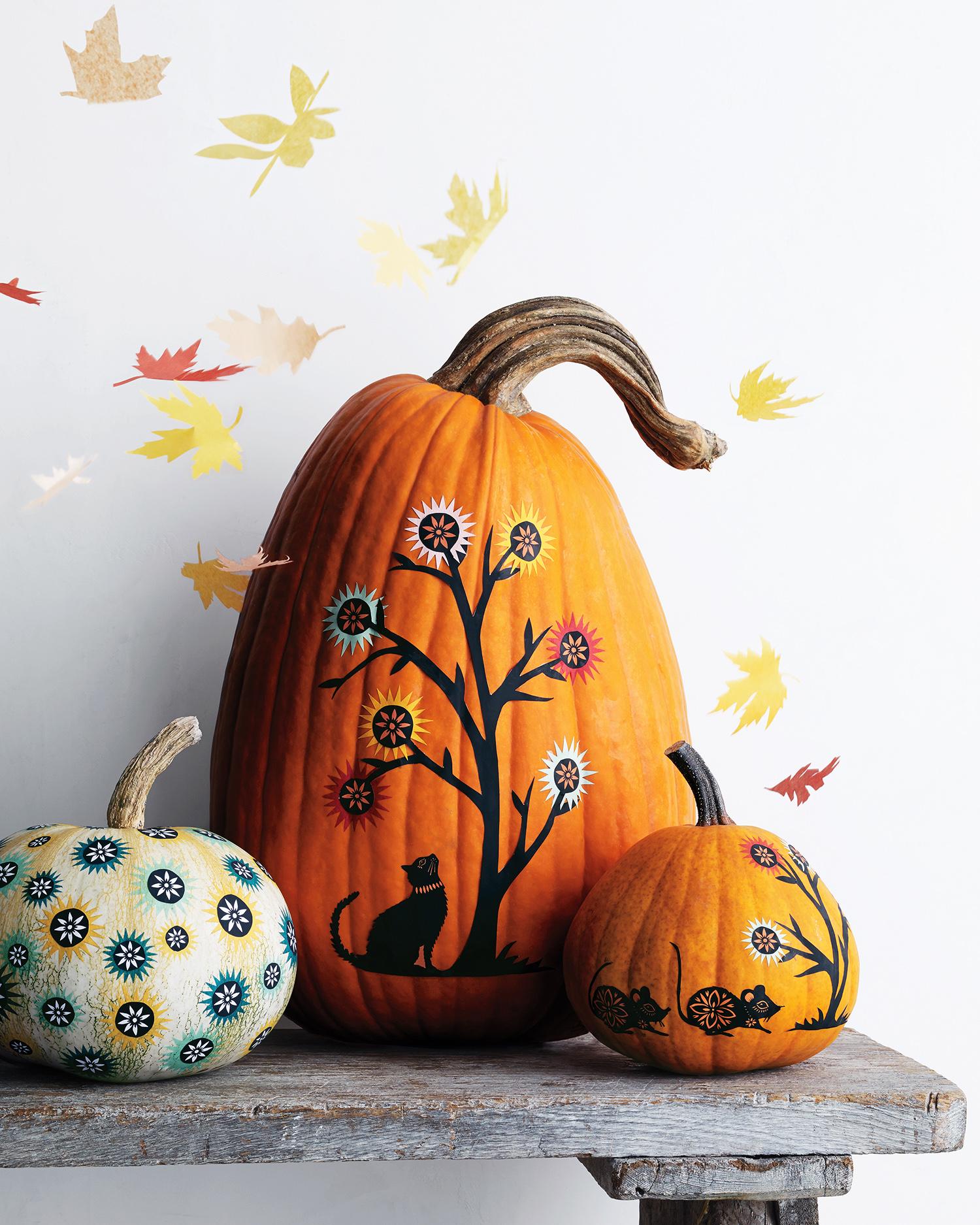 15 Halloween Decorating and Craft Templates.