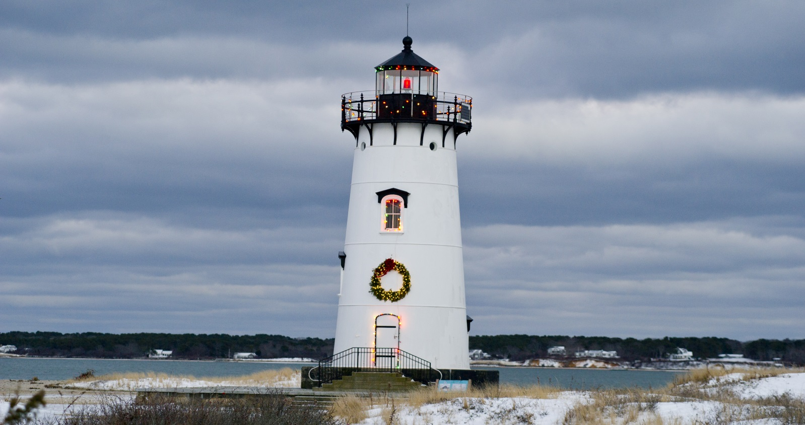 Martha's Vineyard at Christmas.