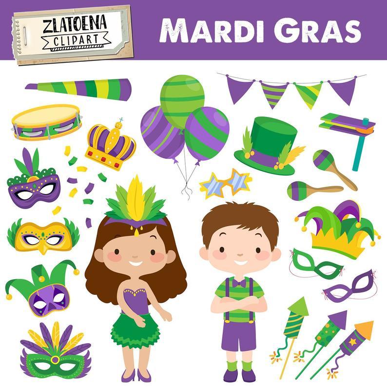 Mardi Gras clipart Mardi Gras Festival Clipart Carnaval clipart Mardi Gras  Party Mardi Gras Graphics Fiesta graphic Masquerade Party clipart.