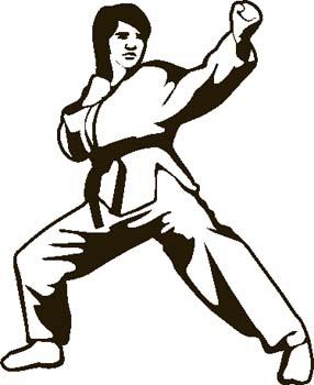 Martial arts images clip art.