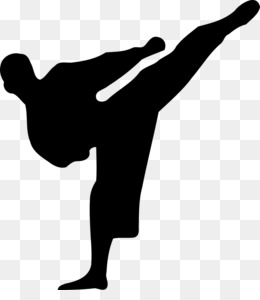 Martial Arts Silhouette PNG and Martial Arts Silhouette.