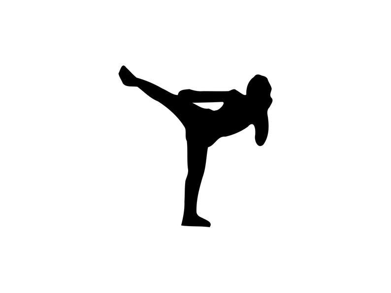 Martial Arts Svg Karate Svg Martial Arts Clipart Karate Cut File Martial  arts Dxf Sparring Svg Martial Arts Silhouette Karate Dxf Clip Art.