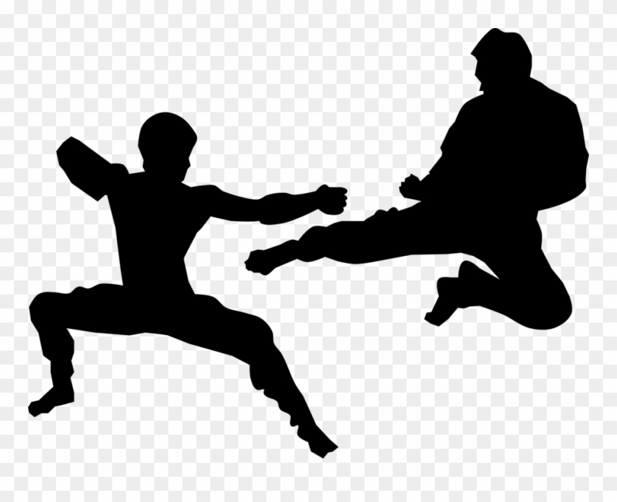 Sparring Kumite Karate Martial Arts Kickboxing.