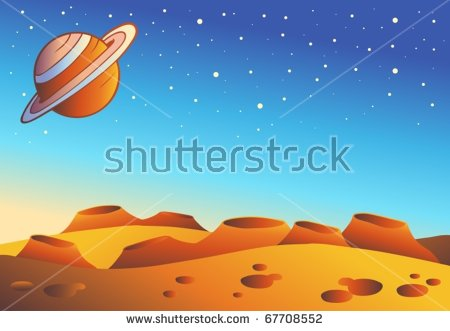 Planet Surface Stock Photos, Royalty.