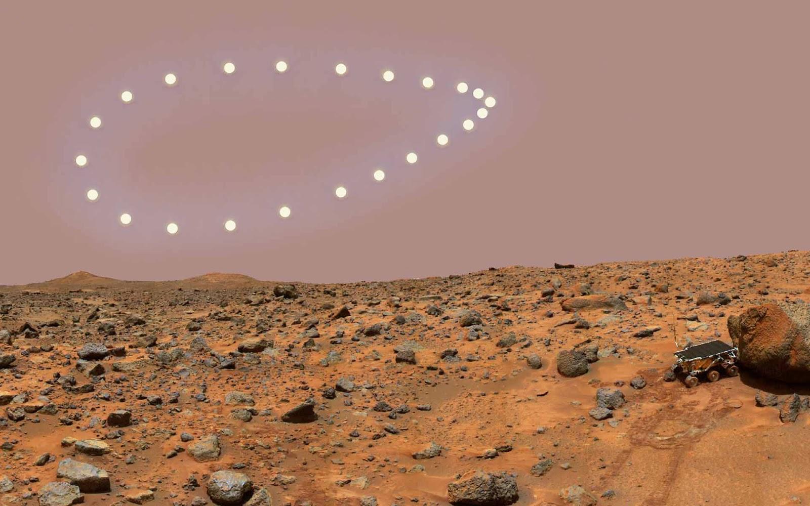Mars Desktop Wallpaper.