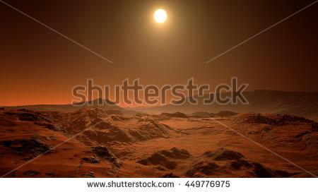 Mars Stock Photos, Royalty.