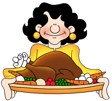 Free Thanksgiving Clip Art by Phillip Martin.