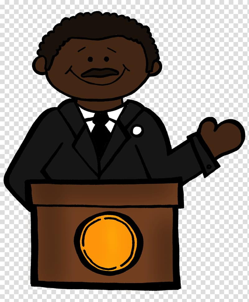 Martin Luther King Jr transparent background PNG cliparts.