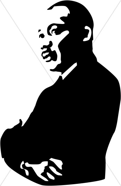 Free At Last MLK Clipart.