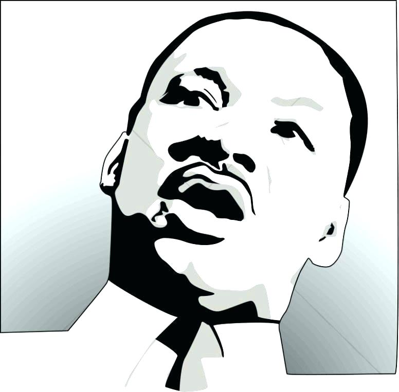 Martin Luther King Drawing.