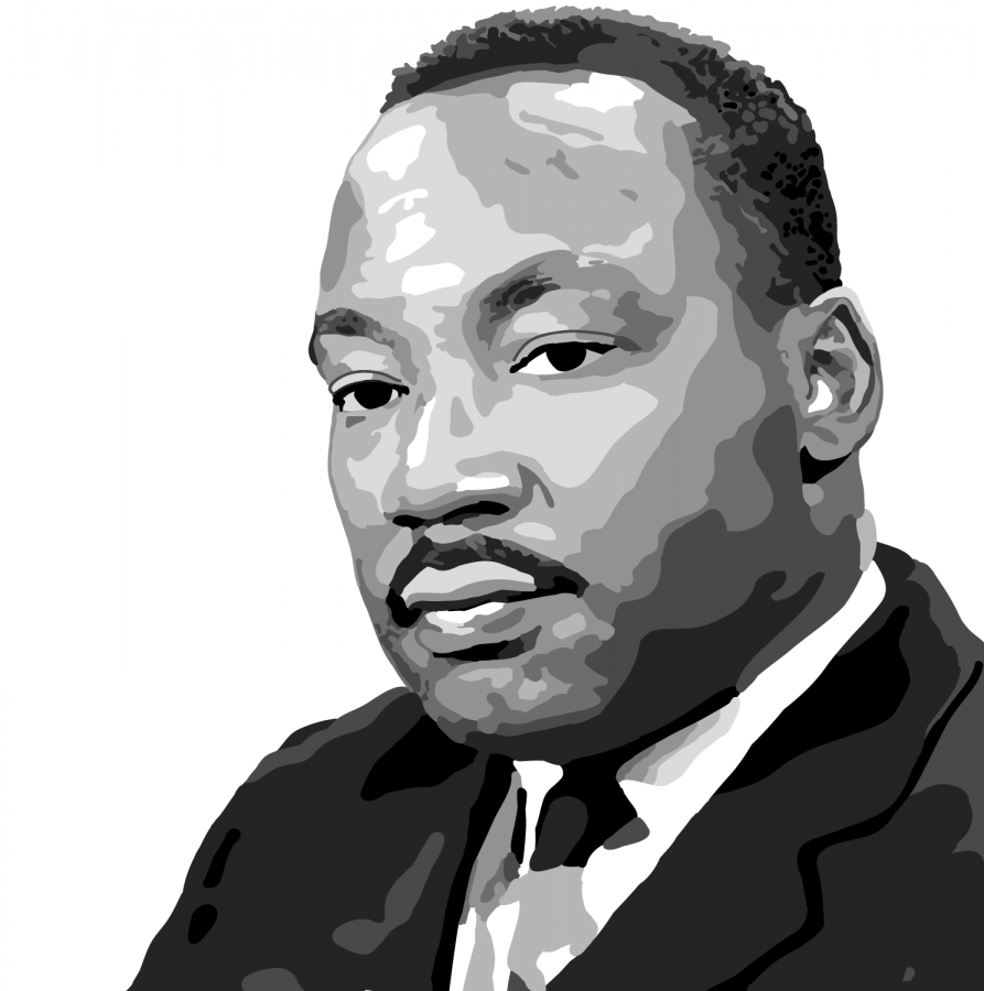 Martin Luther King Jr. honored in University events.