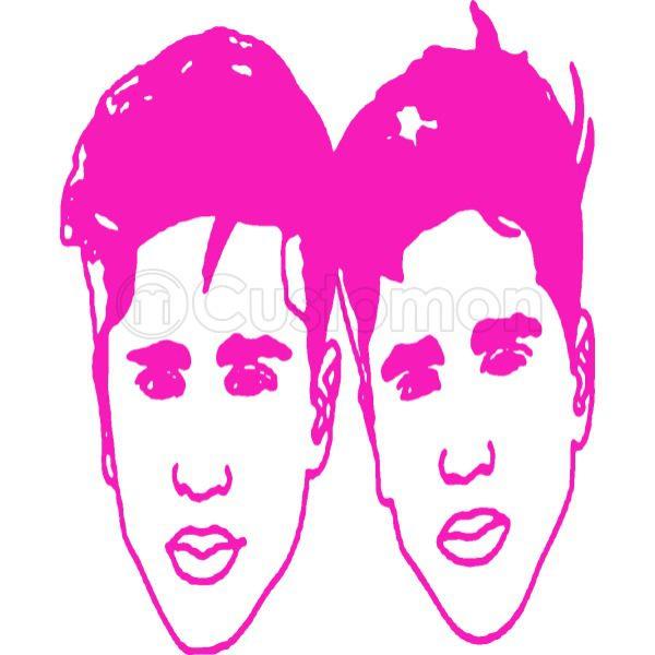 martinez twins logo Baby Bib.