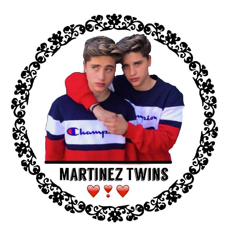 Martinez Twins \' Sticker by Emily MacDonald.