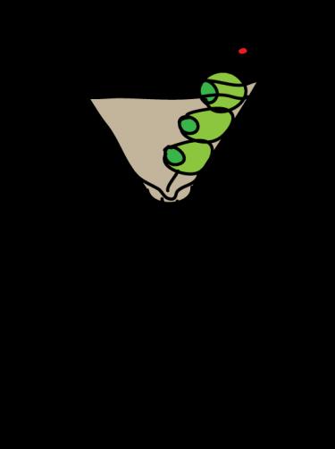Martini Clipart.