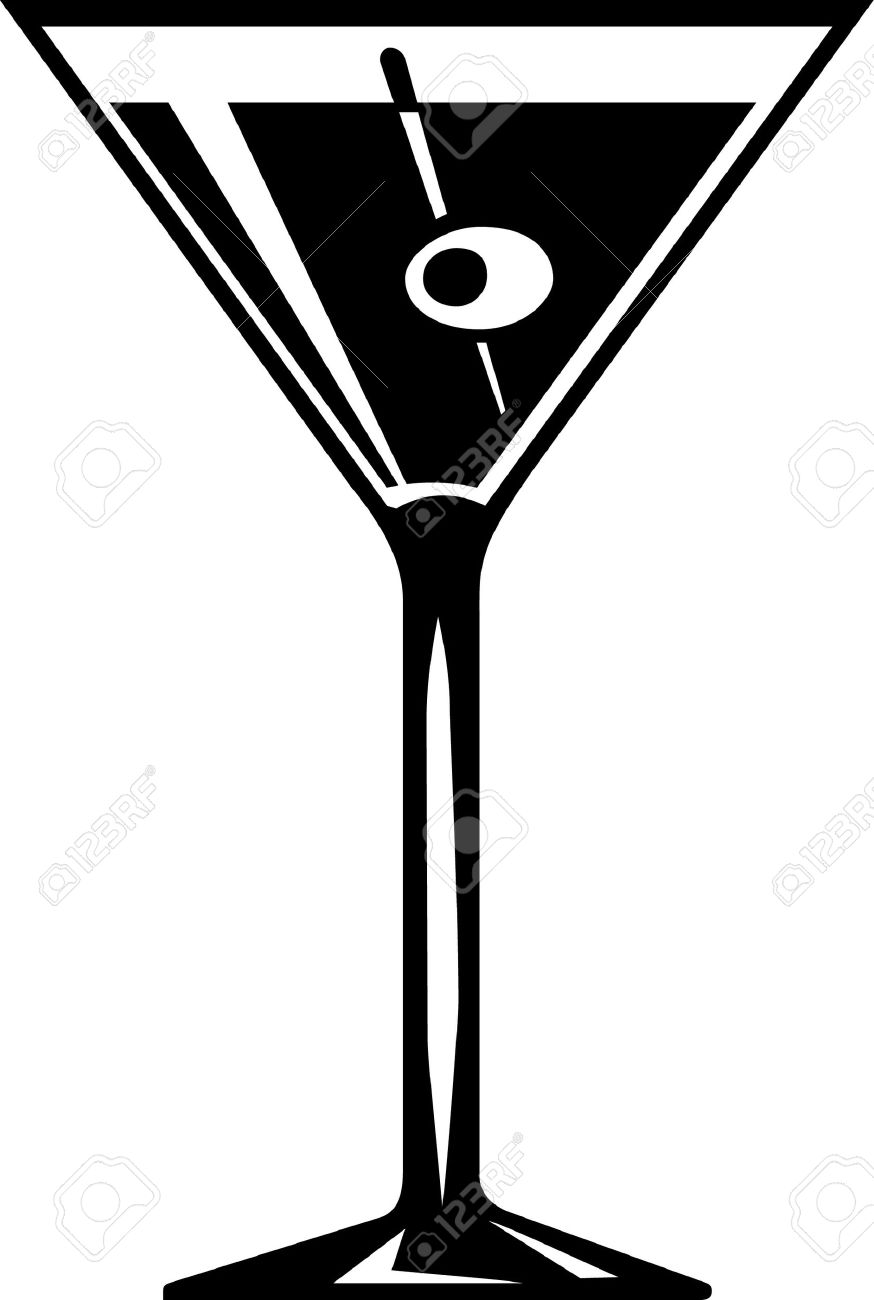 16,927 Martini Glass Stock Vector Illustration And Royalty Free.