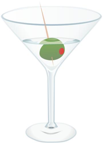 Free Martini Clipart, 1 page of Public Domain Clip Art.