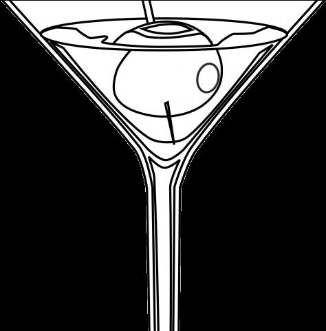 Martini Clipart Toast.
