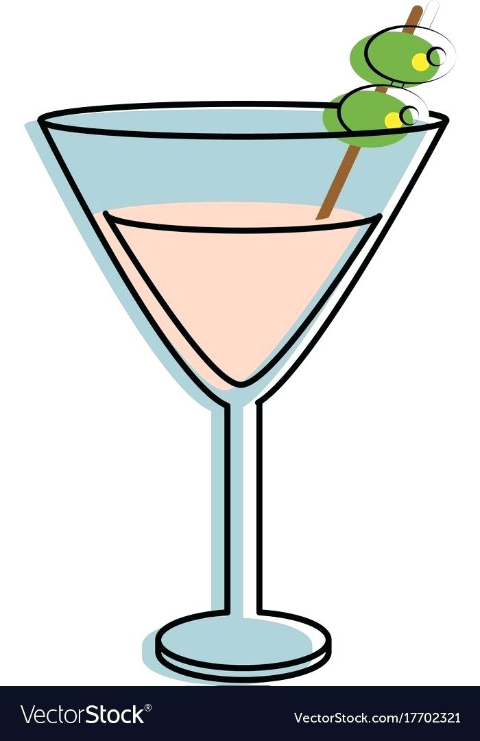 martini glass.