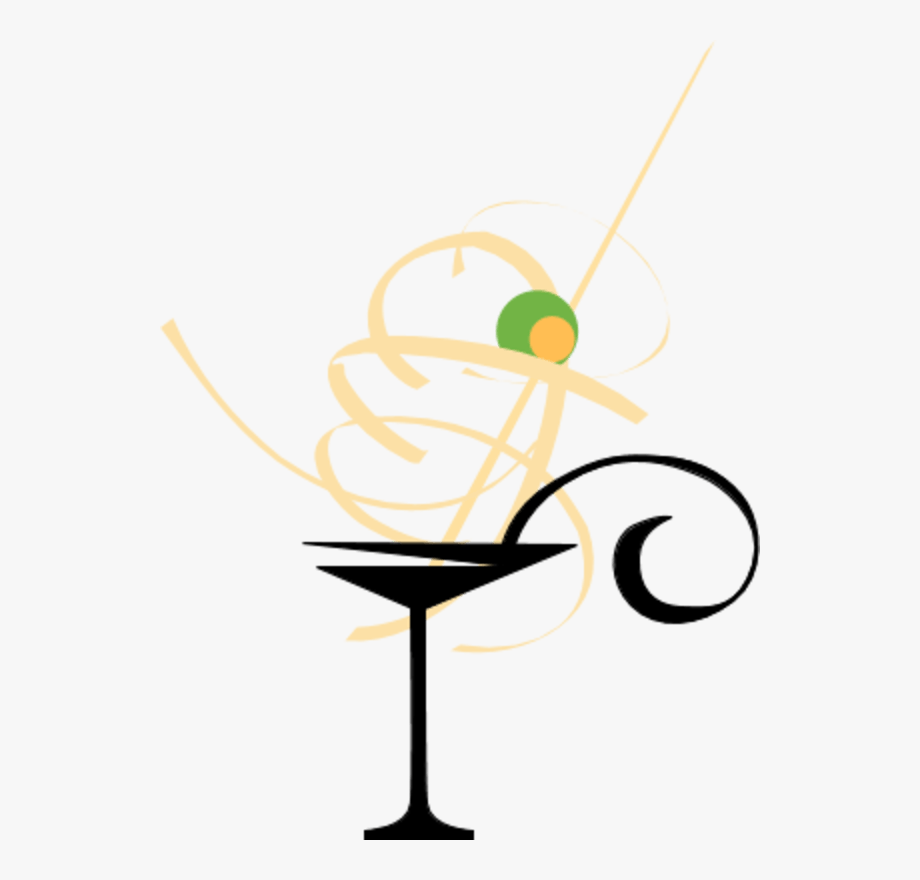Champagne Glasses Clipart.