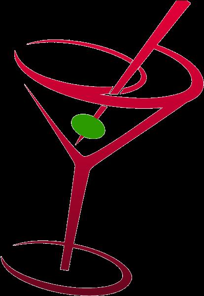 Martini Glass Clipart.