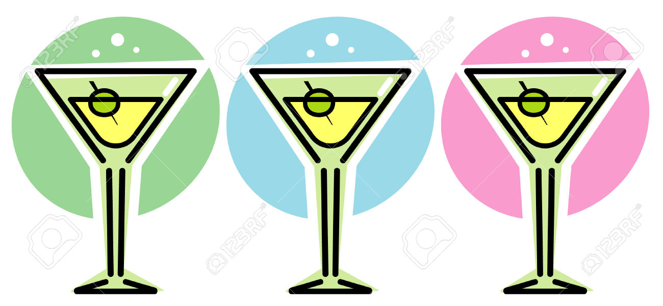 Martini Glasses.