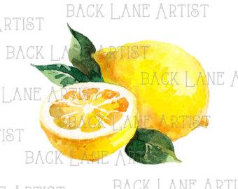 Lemon clipart.