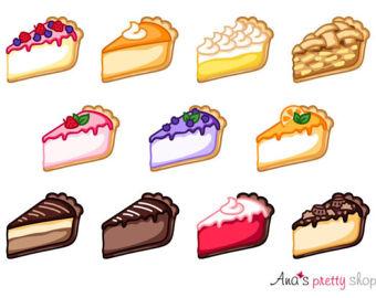 Pie illustration.