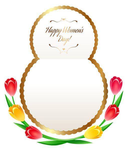 Boldog Womens Day PNG Clipart kép.