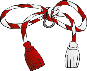 Martisor String Clip Art at Clker.com.
