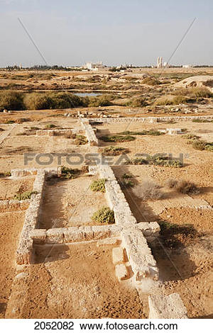 Stock Photo of Archaeological Remains Of The Christian Holy City.