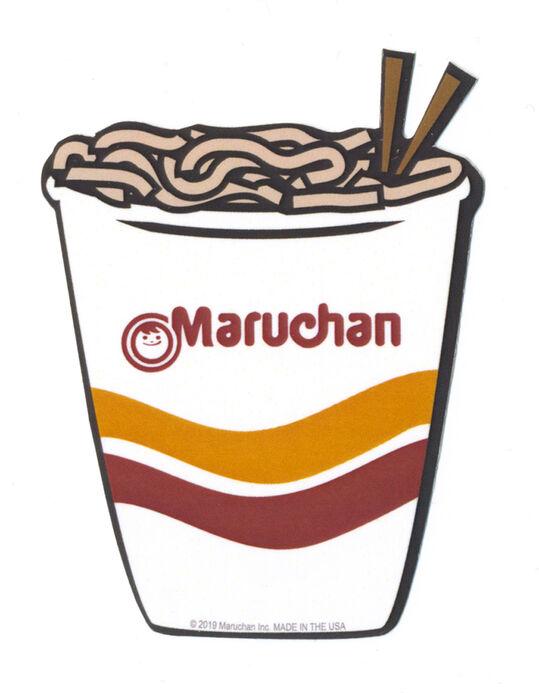Maruchan Sticker.
