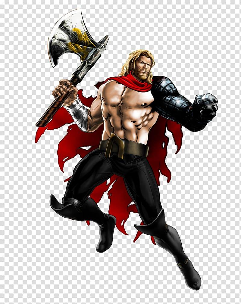 Marvel: Avengers Alliance Thor Thanos Action & Toy Figures.