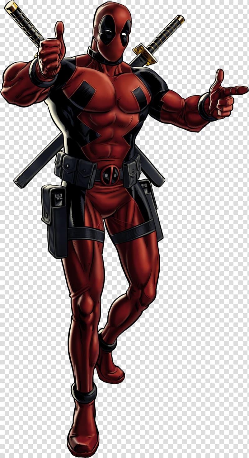 Deadpool Marvel: Avengers Alliance Spider.