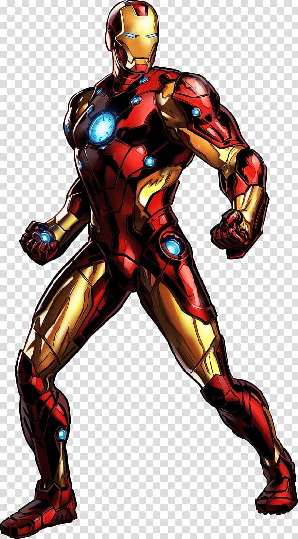 Iron Man illustration, Marvel: Avengers Alliance Marvel.