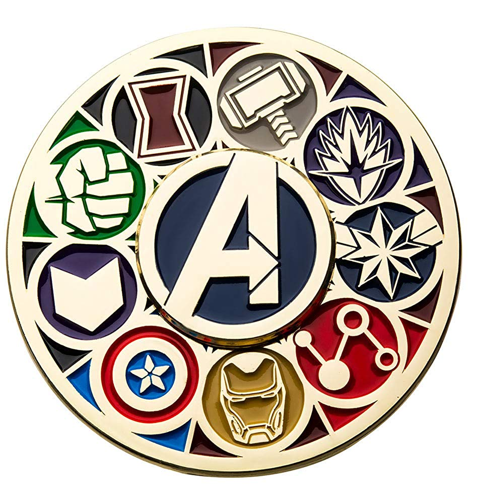 Amazon.com: Marvel Avengers Hero Logos Exclusive 2 Inch.