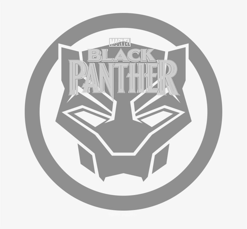 Marvel Black Panther Logo Png.