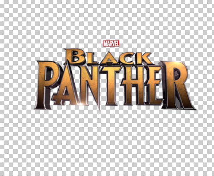 Black Panther Marvel Cinematic Universe Film Logo PNG.