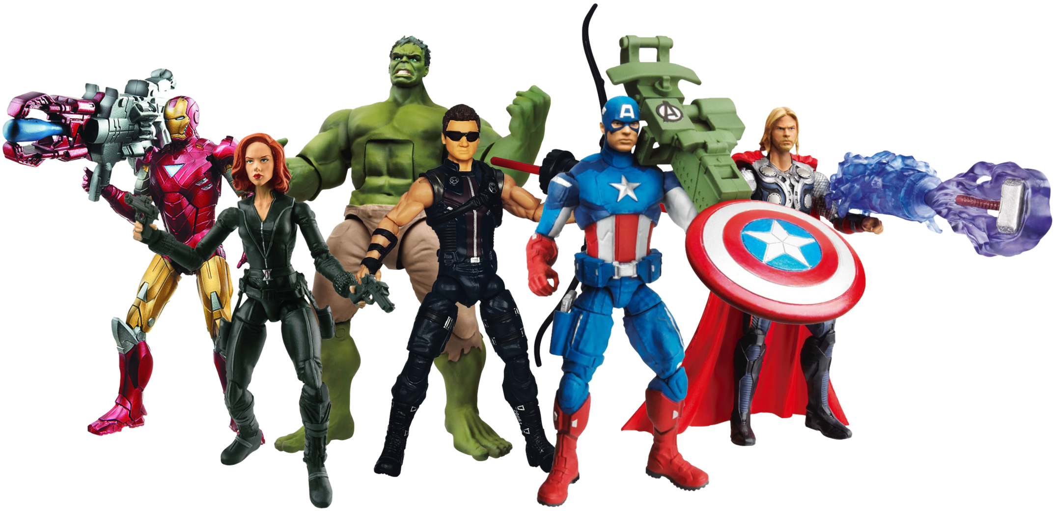 marvel character clipart on transparent